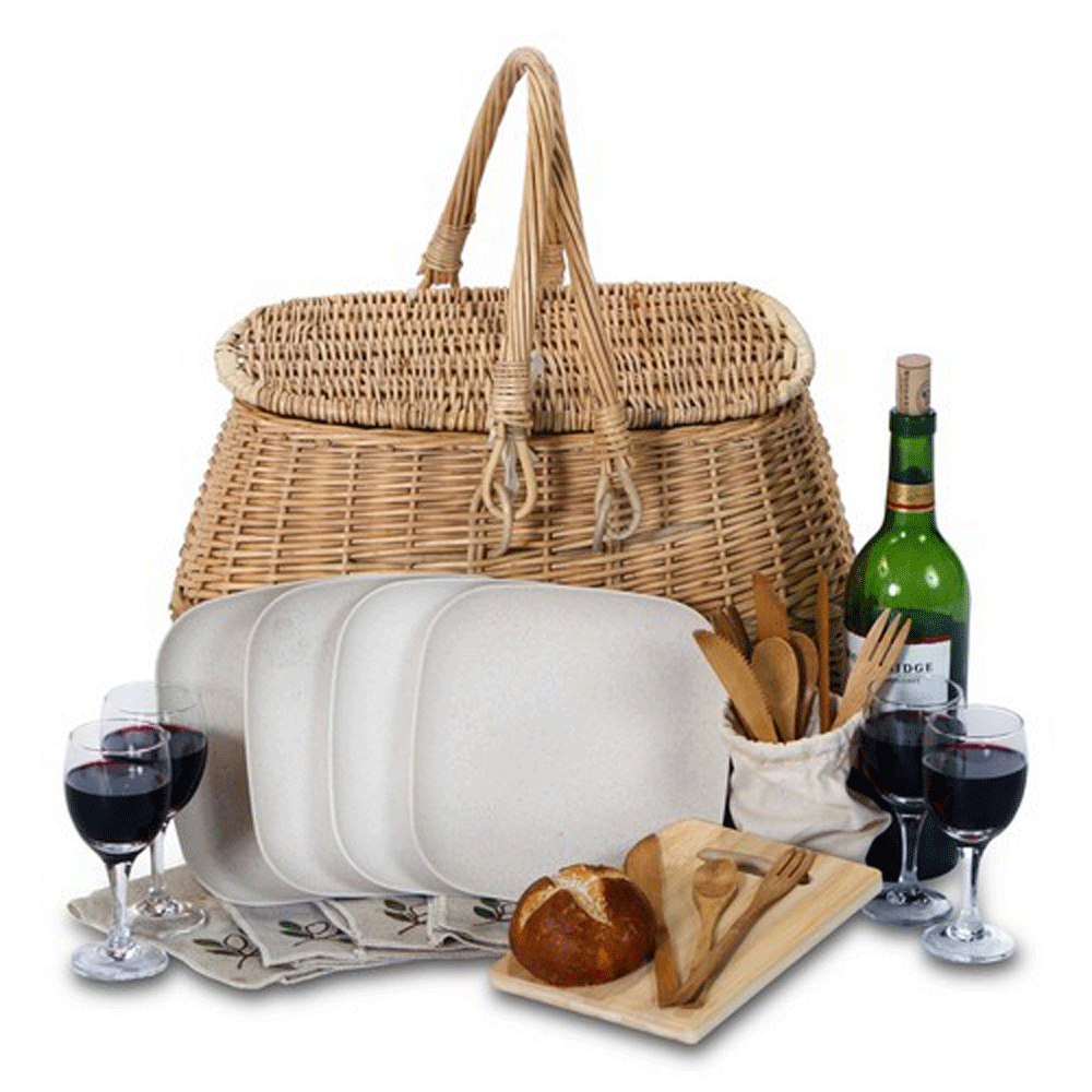 Picnic Baskets For 4 Ireland : Picnic plus eco basket for picnicbaskets