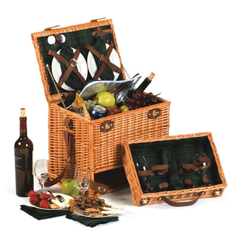 Picnic Baskets For 4 Ireland : Picnic plus mirabel basket for picnicbaskets