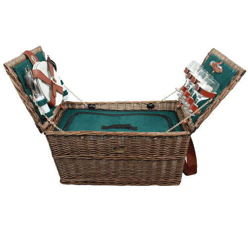 Picnic Baskets For 4 Ireland : Sutherland covington insulated picnic basket for