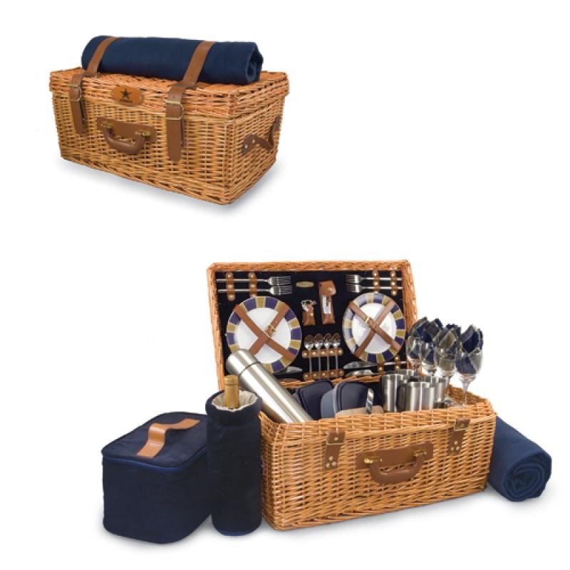 Windsor Picnic Basket For 4 : Picnic basket set surrey for two with