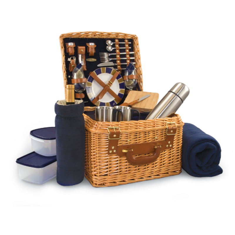Picnic Time Canterbury Picnic Basket for 2