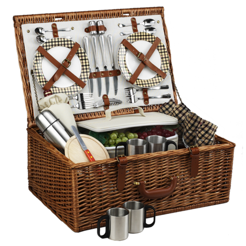 Picnic At Ascot Dorset Picnic Basket for 4 w Coffee Service London