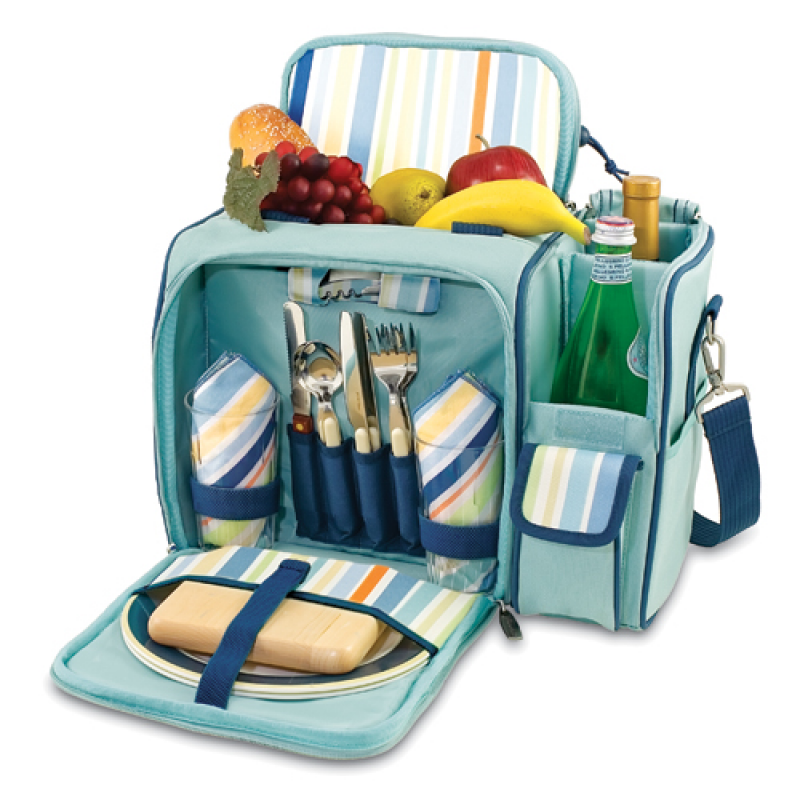 Picnic Time Malibu St Tropez Picnic Backpack for 2