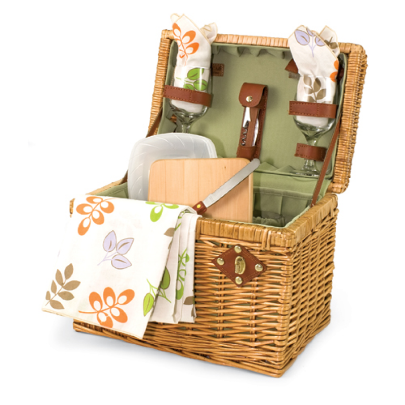 Picnic Time Napa Botanica Picnic Basket for 2
