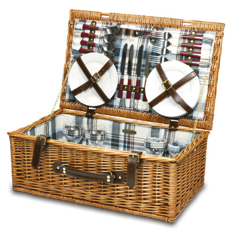 Picnic Time Newbury Picnic Basket for 4