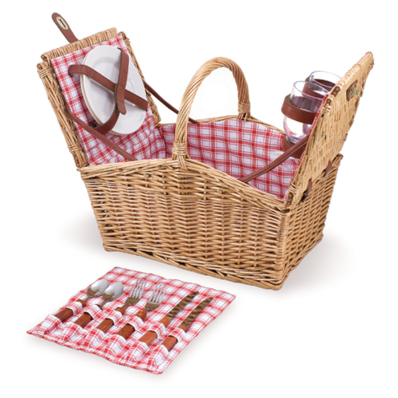 Picnic Time Piccadilly Picnic Basket for 2