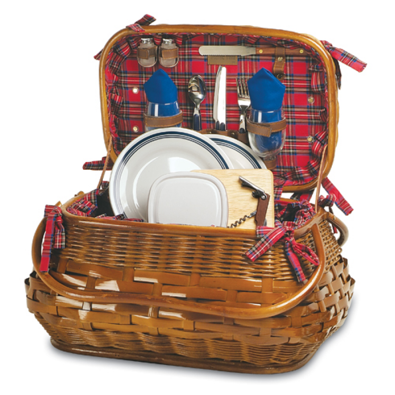 Picnic Time Sandringham Picnic Basket for 2