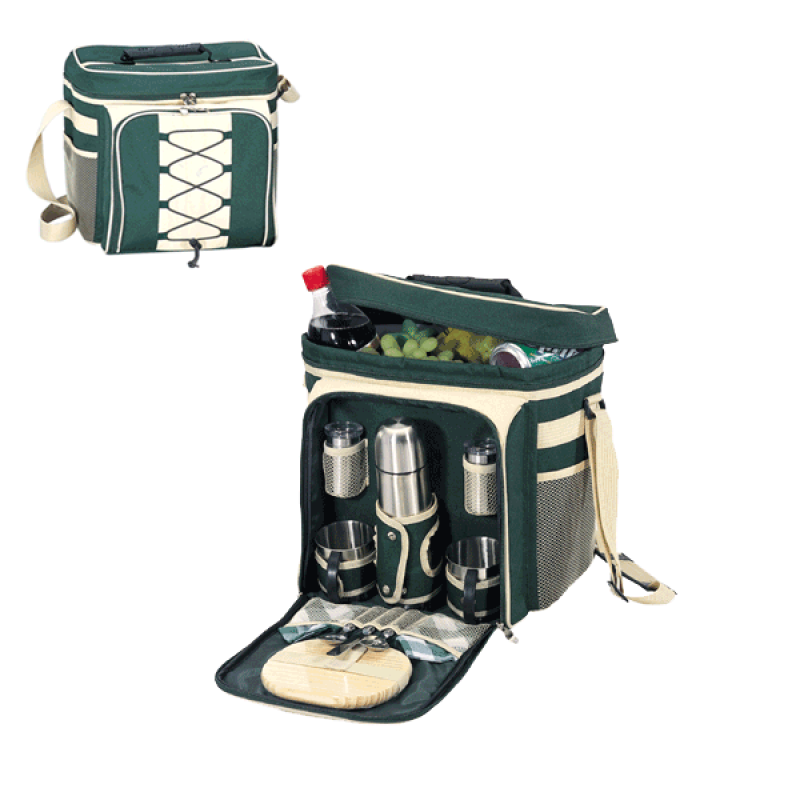 Sutherland Coffee & Cheese Delight Picnic Cooler for 2
