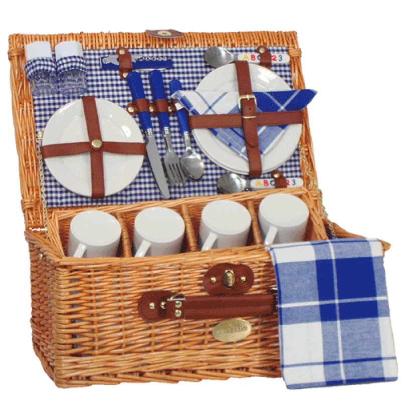 Sutherland Academy Picnic Basket for 4