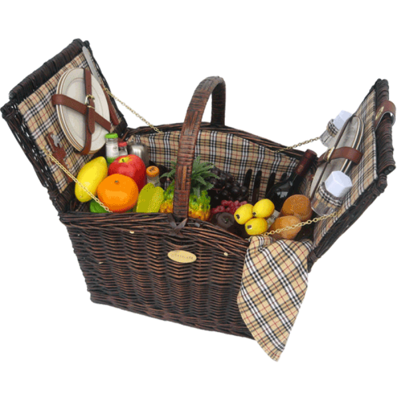 Picnic Baskets For 4 Ireland : Sutherland fairmont picnic basket for baskets