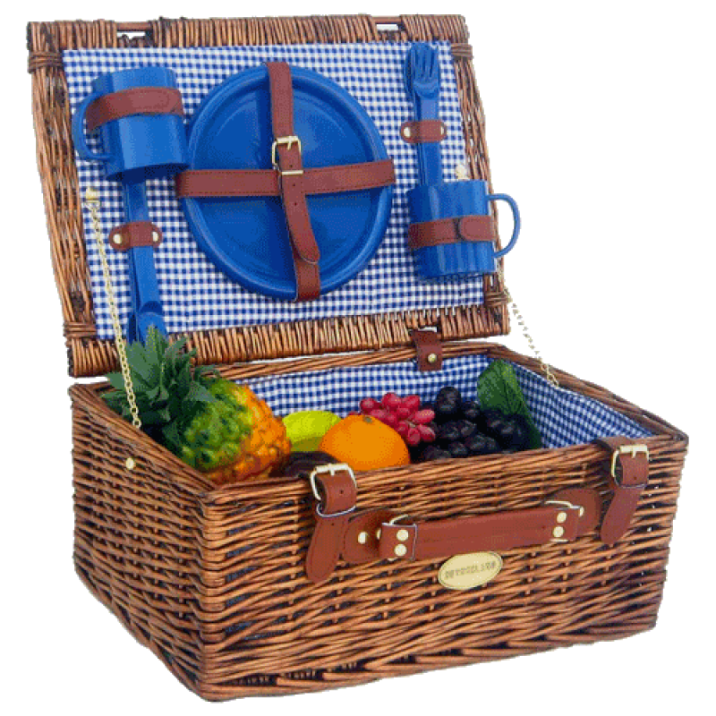 Sutherland Festival Picnic Basket for 2