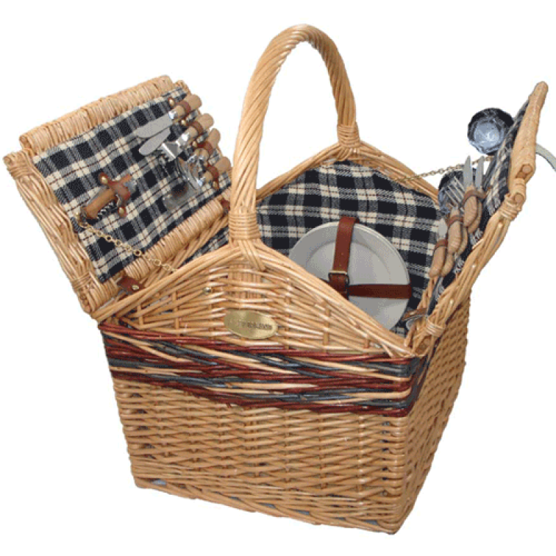 Picnic Baskets For 4 Ireland : Sutherland farmhouse picnic basket for baskets