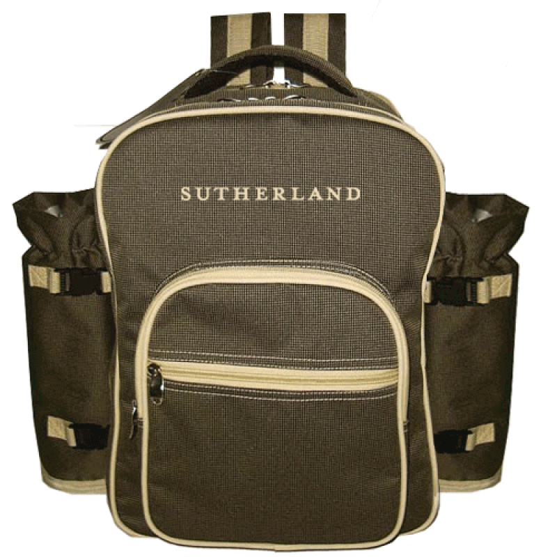 Sutherland Country Road Picnic Backpack for 4