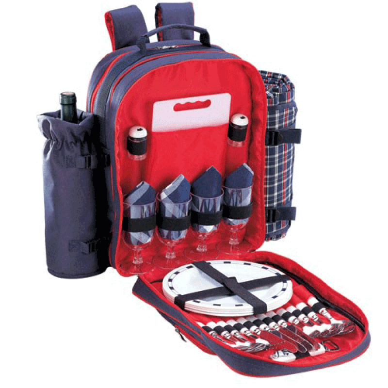 Sutherland Wyndham Picnic Backpack for 4