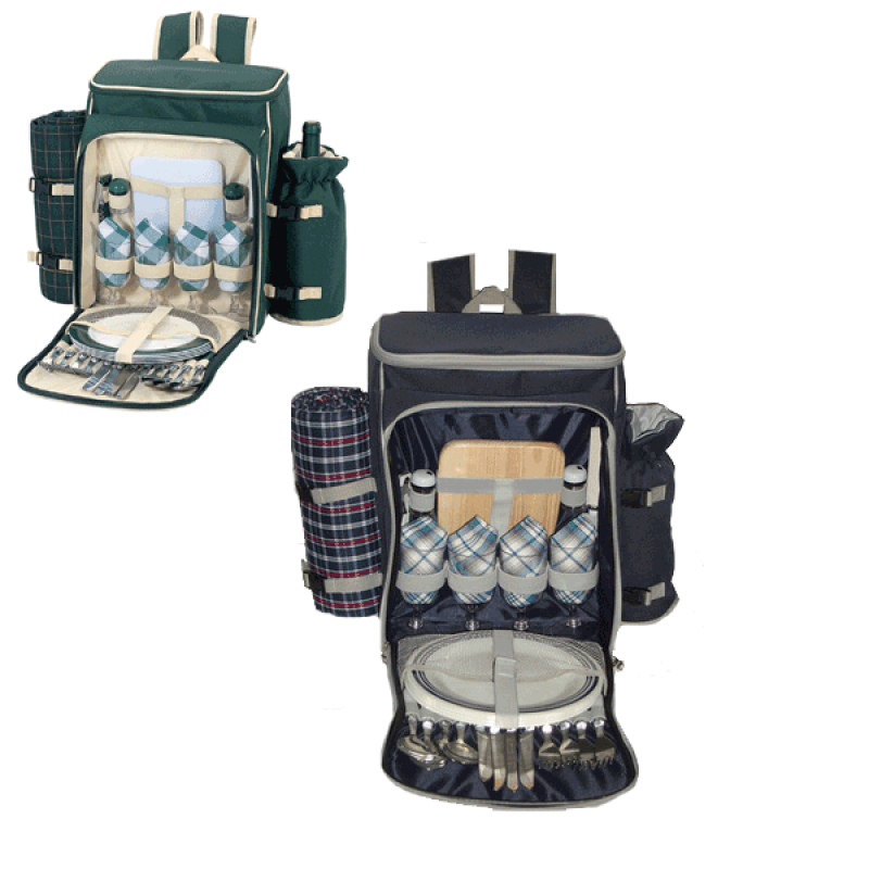 Sutherland Somerset Picnic Backpack for 4