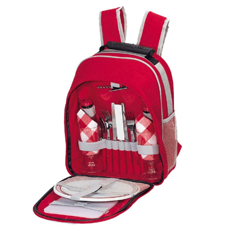 Sutherland Scarlet Picnic Backpack for 2