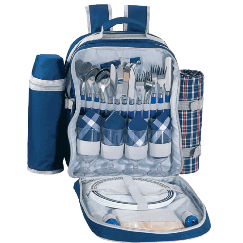 Sutherland Valet Picnic Backpack for 4