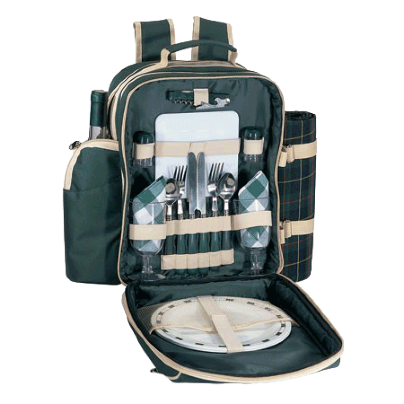 Sutherland Plymouth Picnic Backpack for 2
