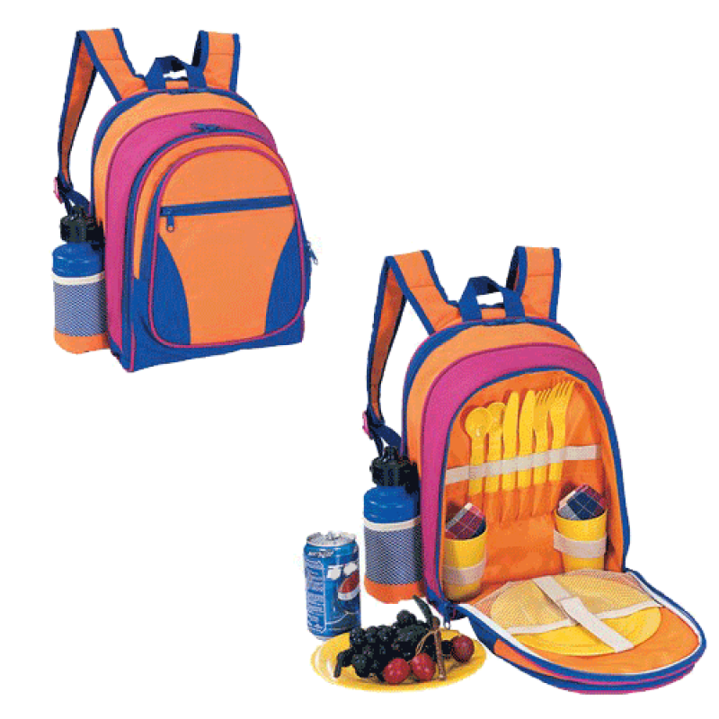 Sutherland Kaleidoscope Kid's Picnic Backpack for 2