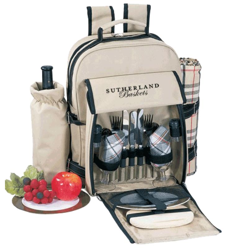 Sutherland Atlantic Highlands Picnic Backpack for 2