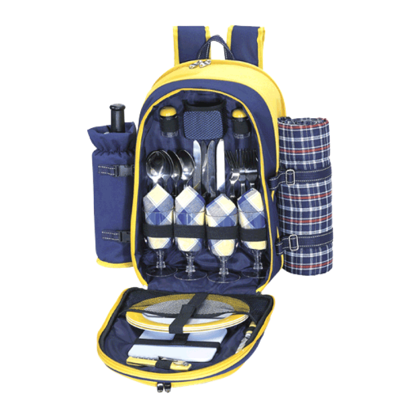 Sutherland Canyon Picnic Backpack for 4