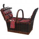 Sutherland Medley de Mesa Insulated Picnic Basket for 4