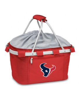 Picnic Time NFL Metro Collapsible Picnic Basket - Houston Texans