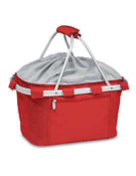 Metro Collapsible Picnic Basket - Red