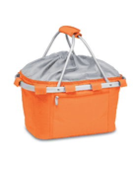 Metro Collapsible Picnic Basket - Orange