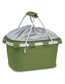 Metro Collapsible Picnic Basket - Olive Green