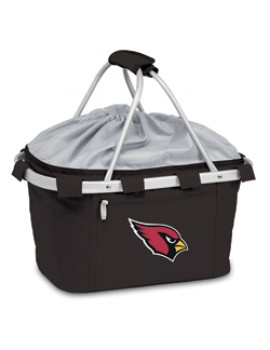 Picnic Time NFL Metro Collapsible Picnic Basket - Arizona Cardinals