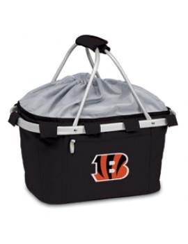 Picnic Time NFL Metro Collapsible Picnic Basket - Cincinnati Bengals