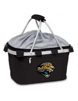Picnic Time NFL Metro Collapsible Picnic Basket - Jacksonville Jaguars