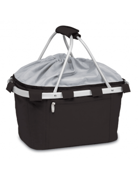 Metro Collapsible Picnic Basket - Black