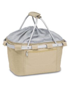 Metro Collapsible Picnic Basket - Tan
