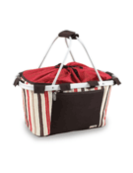 Metro Collapsible Picnic Basket - Moka