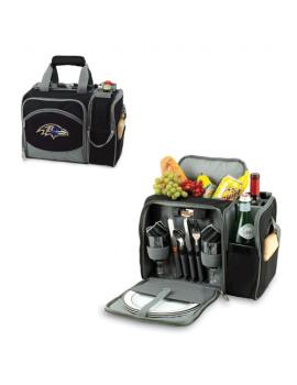 Picnic Time NFL Malibu Picnic Cooler for 2 - Baltimore Ravens
