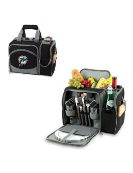 Picnic Time NFL Malibu Picnic Cooler for 2 - Miami Dolphins