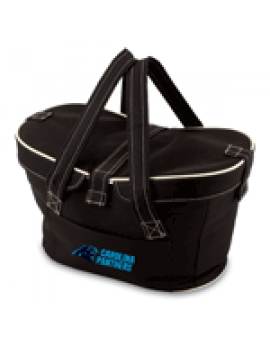 Picnic Time NFL Mercado Empty Picnic Basket - Carolina Panthers