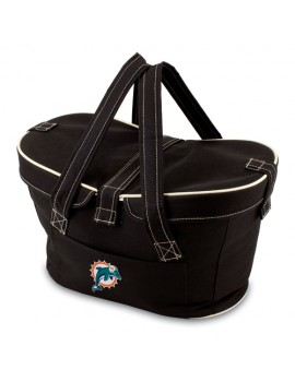 Picnic Time NFL Mercado Empty Picnic Basket - Miami Dolphins