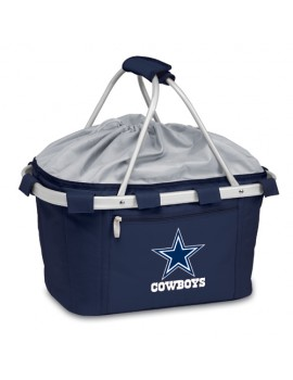 Picnic Time NFL Metro Collapsible Picnic Basket - Dallas Cowboys