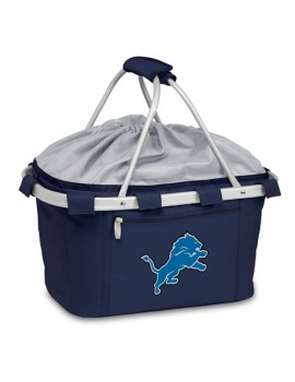 Picnic Time NFL Metro Collapsible Picnic Basket - Detroit Lions