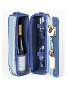 Picnic At Ascot Aegean Sunset Wine Cooler Tote