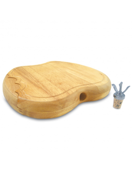 Picnic Time Apple Cutting Board