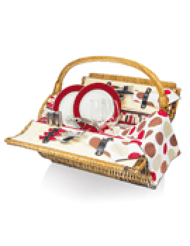 Picnic Time Barrel Moka Picnic Basket for 2