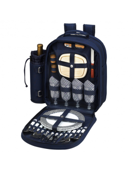 Picnic At Ascot Bold Picnic Backpack for 4
