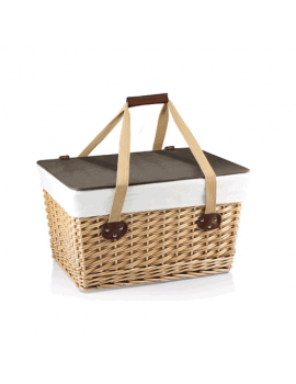 Picnic Time Canasta Empty Picnic Basket