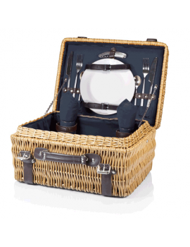 Picnic Time Champion Picnic Basket for 2 - Navy