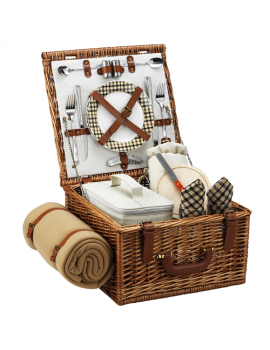 Picnic At Ascot Cheshire Picnic Basket for 2 w Blanket London