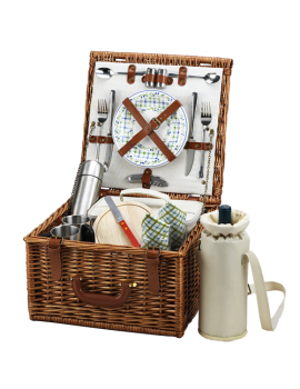 Picnic At Ascot Cheshire Picnic Basket for 2 w Coffee Service Gazebo